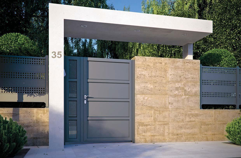 13 Inspirasi Pagar Rumah Minimalis Modern Dijamin Bikin Tetangga Iri Rumah123 Com