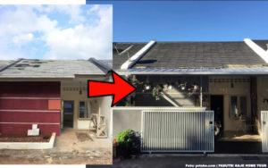 Biaya Renovasi Rumah Minimalis Tipe 36 Cuma Rp7 Juta, Hasilnya Estetis Begini!