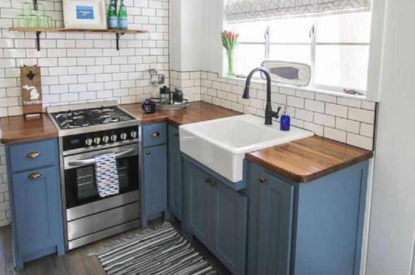 11 Gambar Desain Dapur Sempit Inspirasi Terbaik Untuk Rumah Type 36 Rumah123 Com