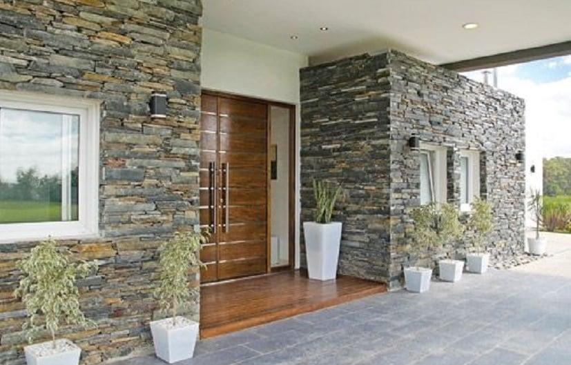 10 Inspirasi Keramik Motif Batu Alam | Bikin Tampilan Rumah Jadi Beda Banget