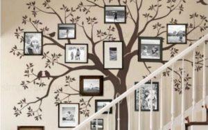 10 Inspirasi Hiasan Dinding Unik untuk Ruang Tamu & Ruang Keluarga