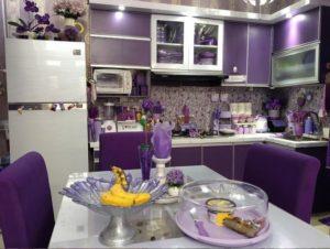 11 Desain Dapur Minimalis Ungu Terbaik 2021, Semakin Cerah dan Penuh Warna