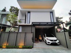 9 Desain Rumah Minimalis 2 Lantai Terbaik dengan Sentuhan Modern 2021