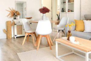 10 Desain Gabungan Ruang Tamu dan Ruang Makan Tanpa Sekat untuk Hunian Mungil