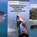 Ditenggelamkan Susi Pudjiastuti di Pangandaran, Kapal Asing Ini Jadi Objek Wisata