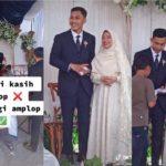 Pengantin dari Garut Ini Tolak Diberi Amplop Pernikahan, Justru Bagi-Bagi Amplop ke Tamu Undangan