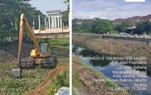 Damai Putra Group Lakukan Revitalisasi Sungai Pulo Gebang Jakarta Timur