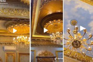 Viral Rumah Mewah Warna Emas Seperti Istana Kerajaan. Geser 'Tahta' Keluarga Sisca Kohl?