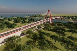 Jembatan Aek Tano Ponggol Ditargetkan Selesai Pada 2022 | Biaya Rp157 Miliar & Jadi Penghubung ke Pulau Samosir