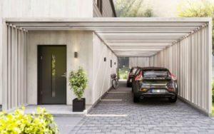 10 Model Garasi Mobil Minimalis Modern, Bisa Melindungi Kendaraan dari Hujan dan Panas